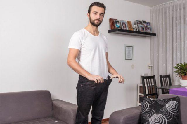 Portret van Admir Krasniqi