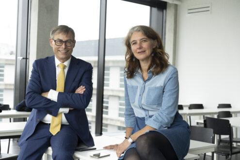 Ben van Lier en Annemiek van Dillen