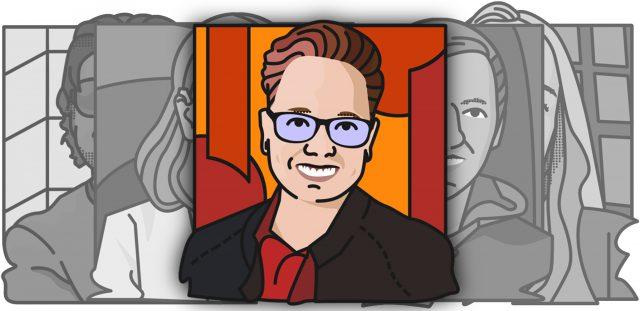 Illustratie portret Darice