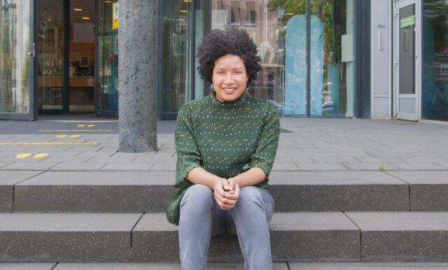 Portret van Claudia Gomes