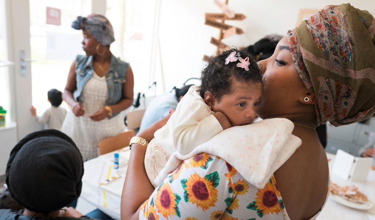 Foto Mamas Garden: moeders en kinderen
