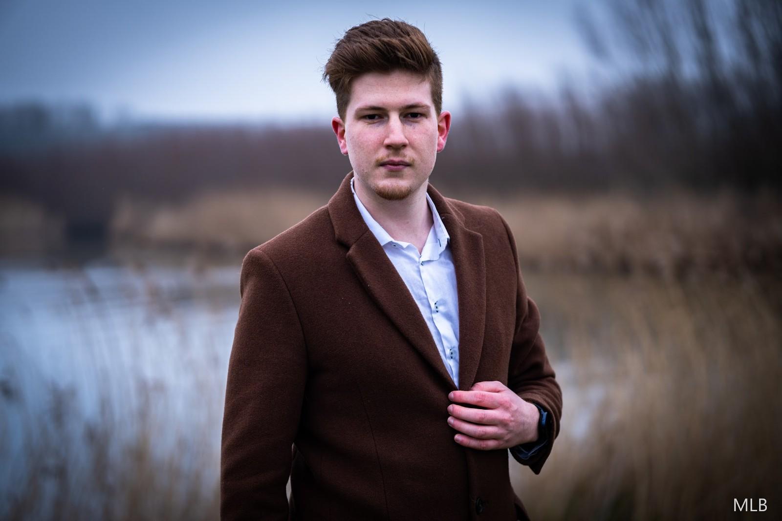 Portret van Steven Vogelaar