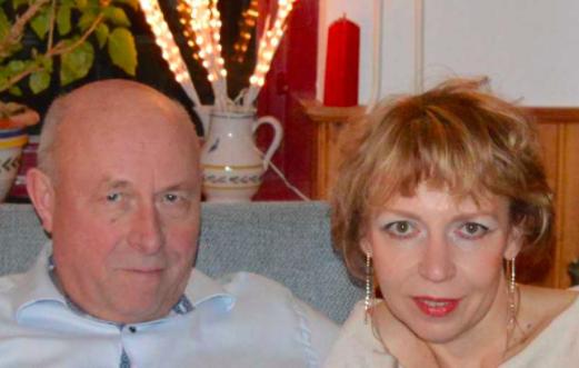 Portret van Oxana en Arthur van der Molen