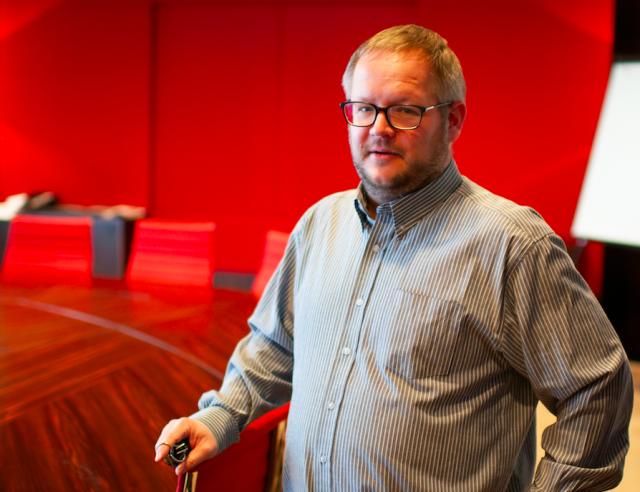 Portret van CMR-voorzitter Sjoerd van Vliet voor Humans of HR