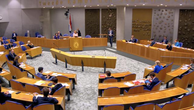 Overzicht van de Tweede Kamer