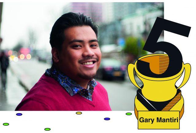 portret van Gary Mantiri