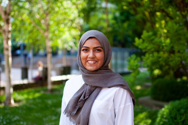 Humans of HR portret van Tabassum