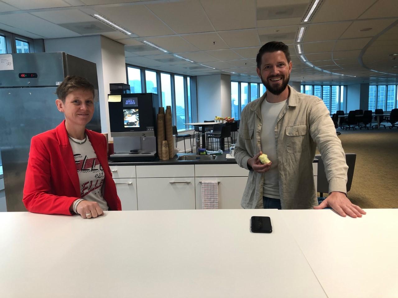Bijpraten met Claudia van Klink en Jurgen van der Wiel