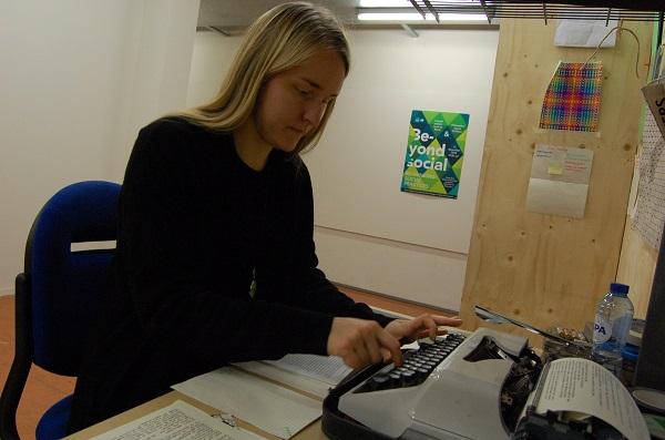 Yuki op typemachine