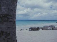 foto van een strand op Aruba