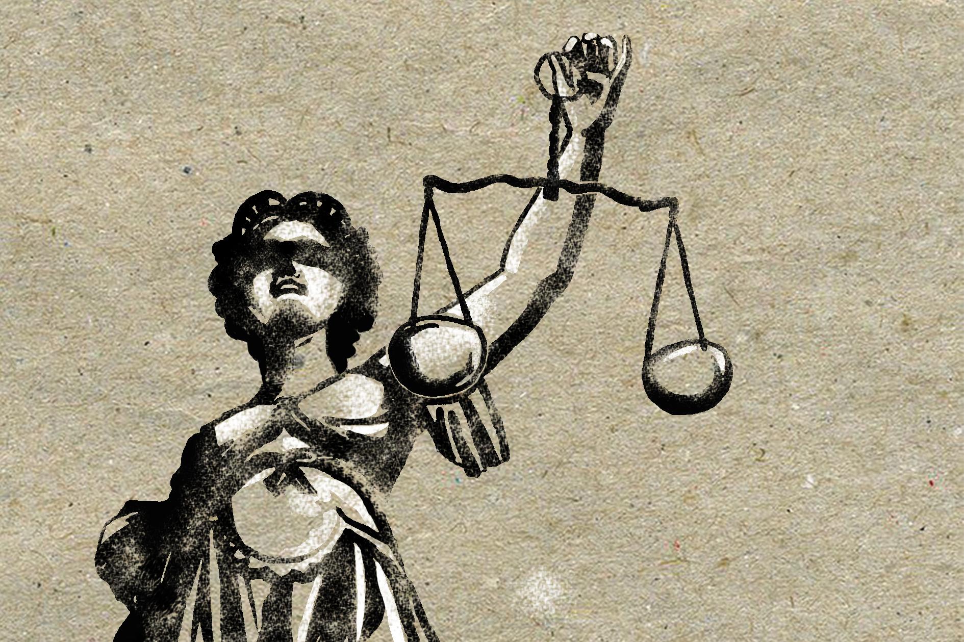 afbeelding vrouwe justitia