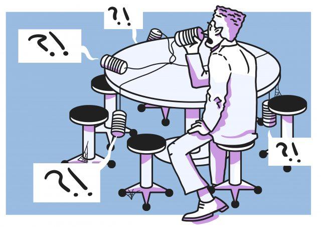illustratie van medezeggenschap en opleidingscommissies