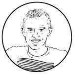 Portret van Danny Leentvaar