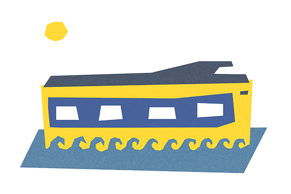 trein illustratie