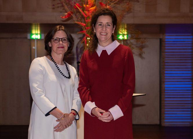 AnneLoes van Staa met minister Van Engelshoven